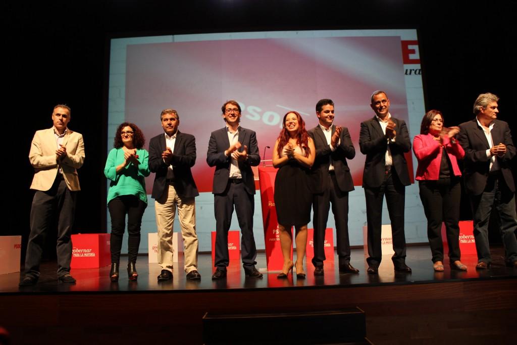 El PSOE de Fuerteventura presenta a sus candidaturas a las elecciones municipales y autonómicas