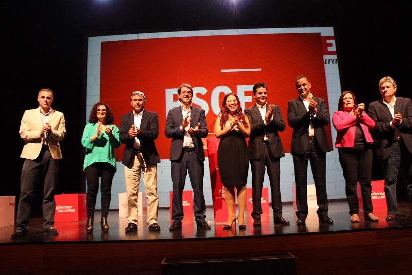 La candidata socialista a presidir el Gobierno canario ha participado en la presentación de las listas del PSOE de Fuerteventura a las Elecciones Locales y Autonómicas