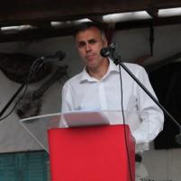 Medio centenar de vecinos de Betancuria apoyaron a Ricardo Silvera en la presentación de la candidatura del PSOE