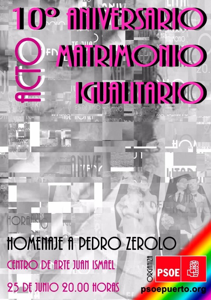 10º ANIVERSARIO MATRIMONIO IGUALITARIO