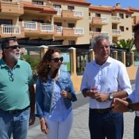 LOS CANDIDATOS DE LA ALIANZA ELECTORAL PSOE-NC-AMF SE REÚNEN CON LA ASOCIACIÓN DE EMPRESARIOS DE EL CASTILLO