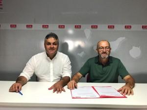 Juan Jimenez presenta su pre candidatura
