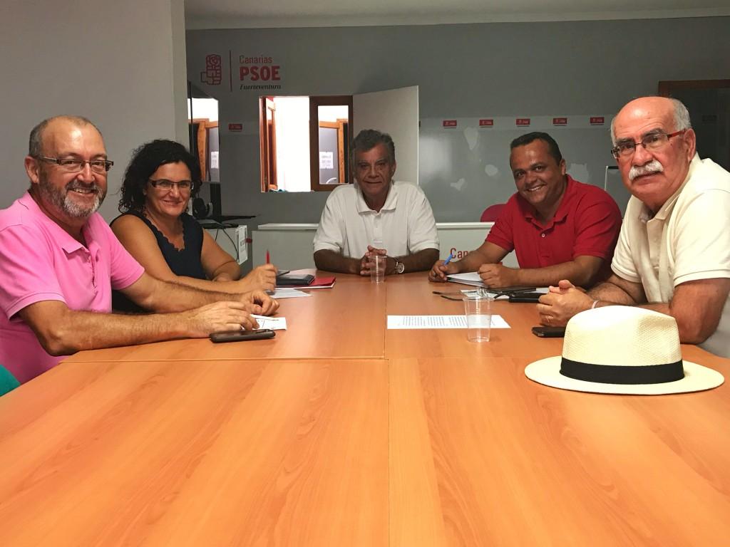 Los avales confirman a Blas Acosta y Juan Jiménez como candidatos a la Secretaría General